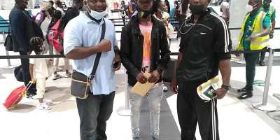 Ghana Super Bantamweight Champion Theophilus Tetteh leaves for RSA