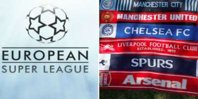 All six Premier League clubs withdraw from proposed European Super League