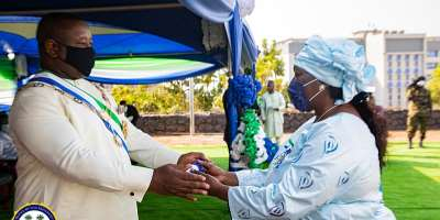 Sierra Leone's President Julius Maada Bio Honours Distinguished Sierra Leoneans for diligent and dedicated services