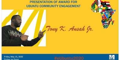 Award Notes By A Ghanaian Diaspora Philanthropist