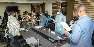 Ken Agyapong chairs newly inaugurated Ghana Gas Board