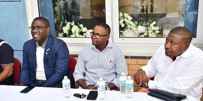 Sammi Awuku, Nana B rally supporters in UK to break the 8