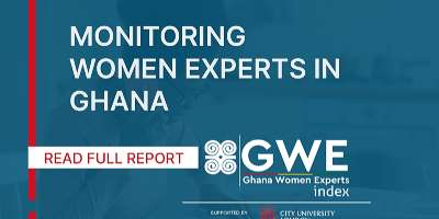 Male Experts Outnumber Female Experts by 11 to 1 on Radio and Television Programs in Ghana