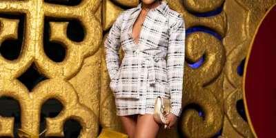Eazzy's Stunning Look At The 2019 Rhythms On Da Runway Show