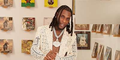 Burna Boy In Good Company With Architectural Digest's Open Door Series