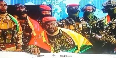 At the head of the group of military authors of the coup is an army colonel, Mamadi Doumbouya.