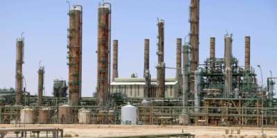An oil refinery in Ras Lanuf, Libya, whose port resumed crude oil exports after a days-long sit-in by young people demanding jobs, the National Oil Corporation said.  By - (AFP/File)