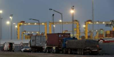 Bollore admitted it used corruption to win a Lome port contract.  By Issouf SANOGO (AFP)