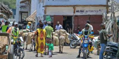 Old town of Lamu has seen an explosion in the number of noisy motorbike taxis known as