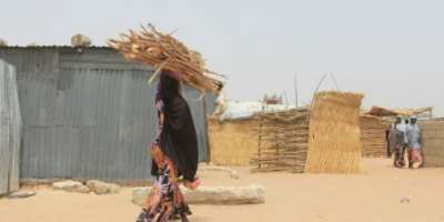 Two million people have been displaced by Nigeria's war in more than a decade.  By Audu Marte (AFP)