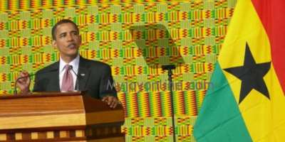 US President Obama addressed the Parliament of Ghana on July 11