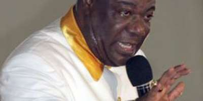 I Bishop Duncan Williams command the Cedi to stand still?