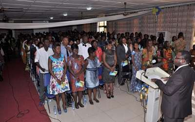 Accra Polytechnic Holds Matriculation For Btech And Hnd Part Time Students