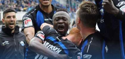 Bernard Tekpetey Grateful To God After Securing Bundesliga Promotion With SC Paderborn