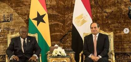 AFCON 2019: Nana Addo Arrives In Egypt; Set To Meet Black Stars Before Benin Clash