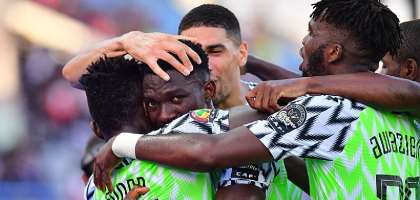 AFCON 2019: Nigeria Seal Round 16 Qualification After Beating Guinea 1-0