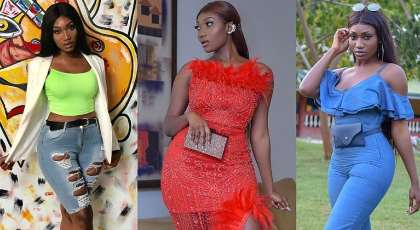 Wendy Shay Display All Her Awards On Display, Brags About Being The Strongest In Music