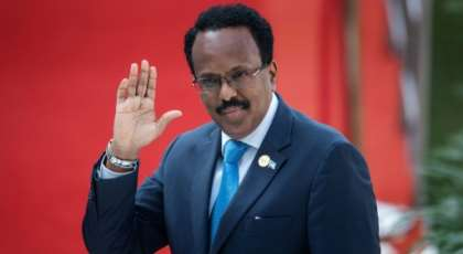 Somalia's President Mohamed Abdullahi Mohamed came into office in 2017 vowing to combat corruption which permeates evert aspect of life.  By Michele Spatari (AFP)