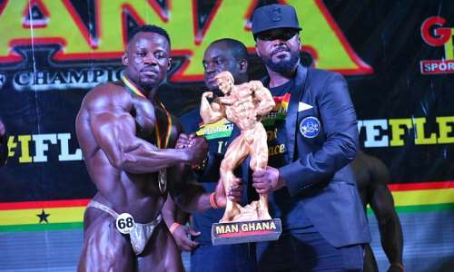 The Next Level Man Ghana 2020 is Godwin Frimpong