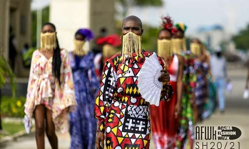 See The Amazing Virtual Fashion Shows Premiered By Accra Fashion Week