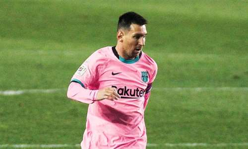 Lionel Messi  Image credit: Getty Images