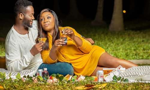 Actor Adjetey Annang celebrates his 14th marriage anniversary with stunning photos