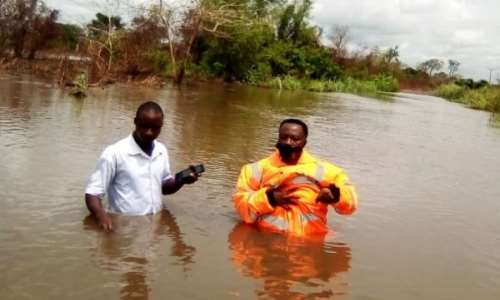Volta region: Heavy rains cause havoc at Adaklu Dzakpo