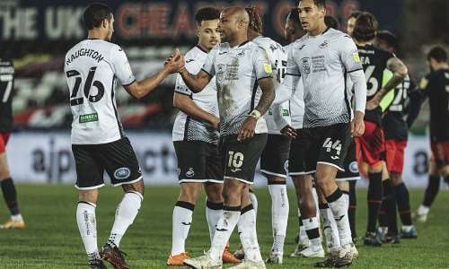 Andre Ayew on target as Swansea City beat Millwall to end four-game unbeaten run