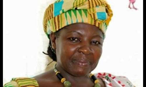 The Chairperson and leader of the Convention People's Party (CPP) Nana Frimpomaa Sarpong Kumankuma