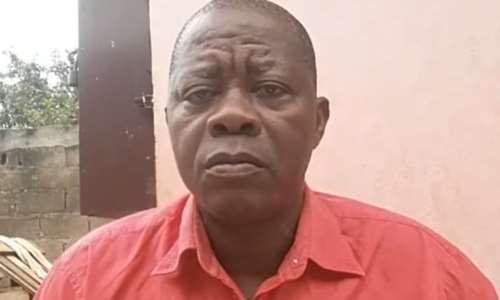 Cameroonian journalist Emmanuel Mbombog Mbog Matip has been detained on false news charges since August 2020. (Photo: Emmanuel Mbombog Mbog Matip/Facebook)