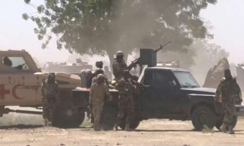 Chad's army is one of Africa's most effective.  By - (AFP/File)
