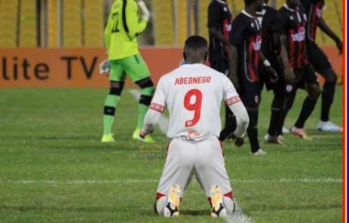 Ghana Premier League: Abednego Tetteh described as 'indomie' striker by  Hearts of Oak fans