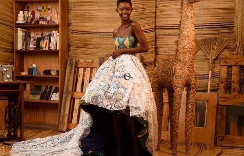 Fashion Schools In Ghana Model Gina Akala Turns Fashion Designer