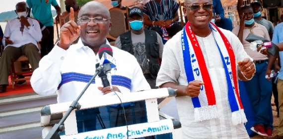 NDC Is Gov't Of 'Akonfem', Unequal Opportunity; NPP Is Gov't Of The Masses –