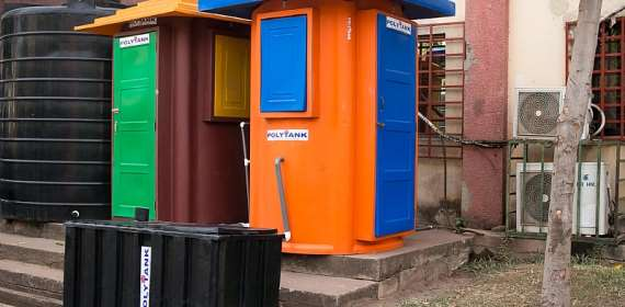 Every Community, A Portable Mobile Toilet