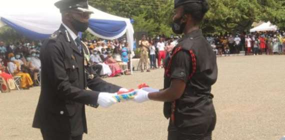 Ahead Of Ghana's Voting Day: Police Recruits Told To Remain Apolitical
