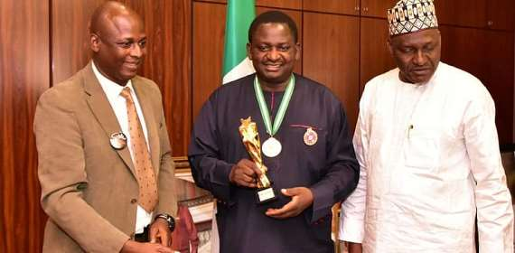 Femi Adesina Decorated As Ambassador Of Rape- Sex Abuja Campaign,Receives West Africa Media Personality Award