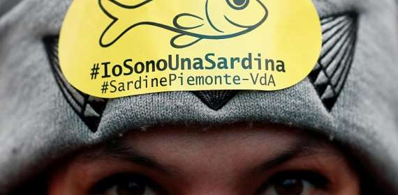 Sardines say they are the alternative to populism in Italy