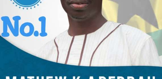 Mathew Debrah Reveals Why He Will Be The Best Assembly Man For Nii-Okaiman W
