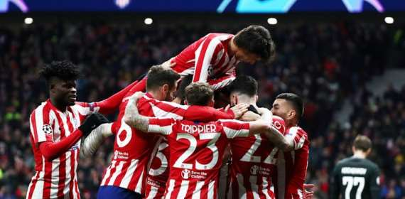 UCL: Partey Elated After Helping Atletico Madrid Advance To Round Of 16