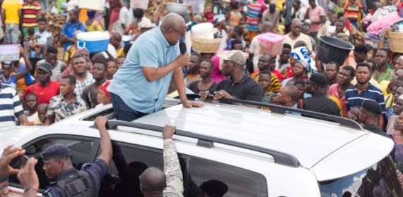 Mahama Clash Akufo-Addo With 'Speakout Session' Tour