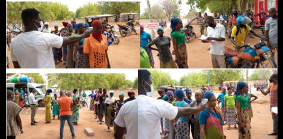 Kayayei At Quarantine Centers Get Support From Institute Of Global Health