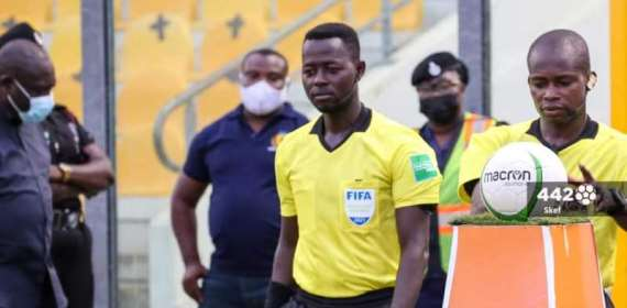 CAF appoints two Ghana referees to officiate match between RS Berkane and  C