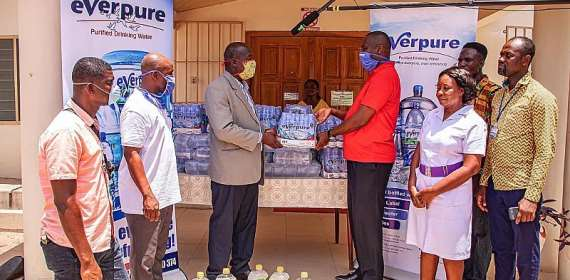 Coronavirus : Everpure Ghana Supports Frontline Service Provi