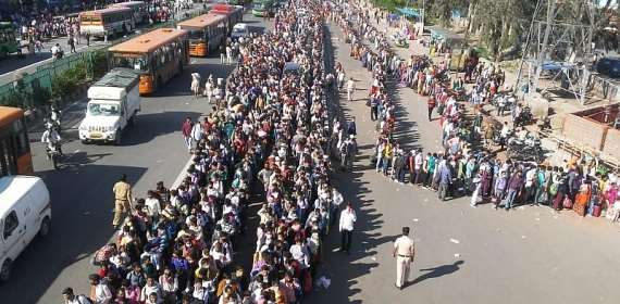 India's government discusses end of lockdown as millions struggle to find food