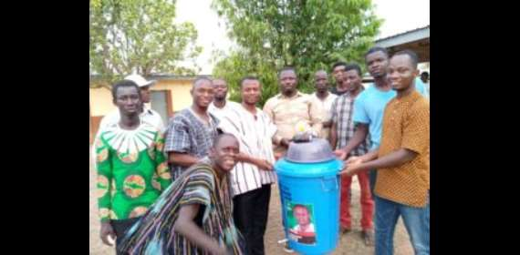 NDC Parliamentary Candidate For Tain Constituency Donates Items To Fight Cor