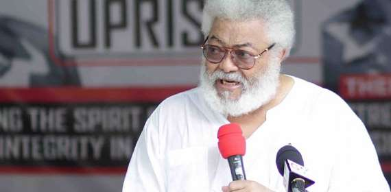President Rawlings Shuts Down Office Due To COVID-19