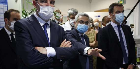 French prime minister in French territory of Guiana to assess Covid crisis