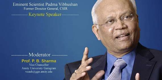 Decentralization, Decarburization and Discipline should be the pillars of Post- Covid India - Padma Vibhushan Dr RA Mashelkar at Amity Eminent Webinar