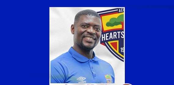 GHPL: Hearts of Oak coach Samuel Boadu wins NASCO Coach of the Month award f